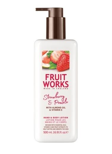 Fruit Works Strawberry & Pomelo El Ve Vücut Losyonu 500 ml Renksiz